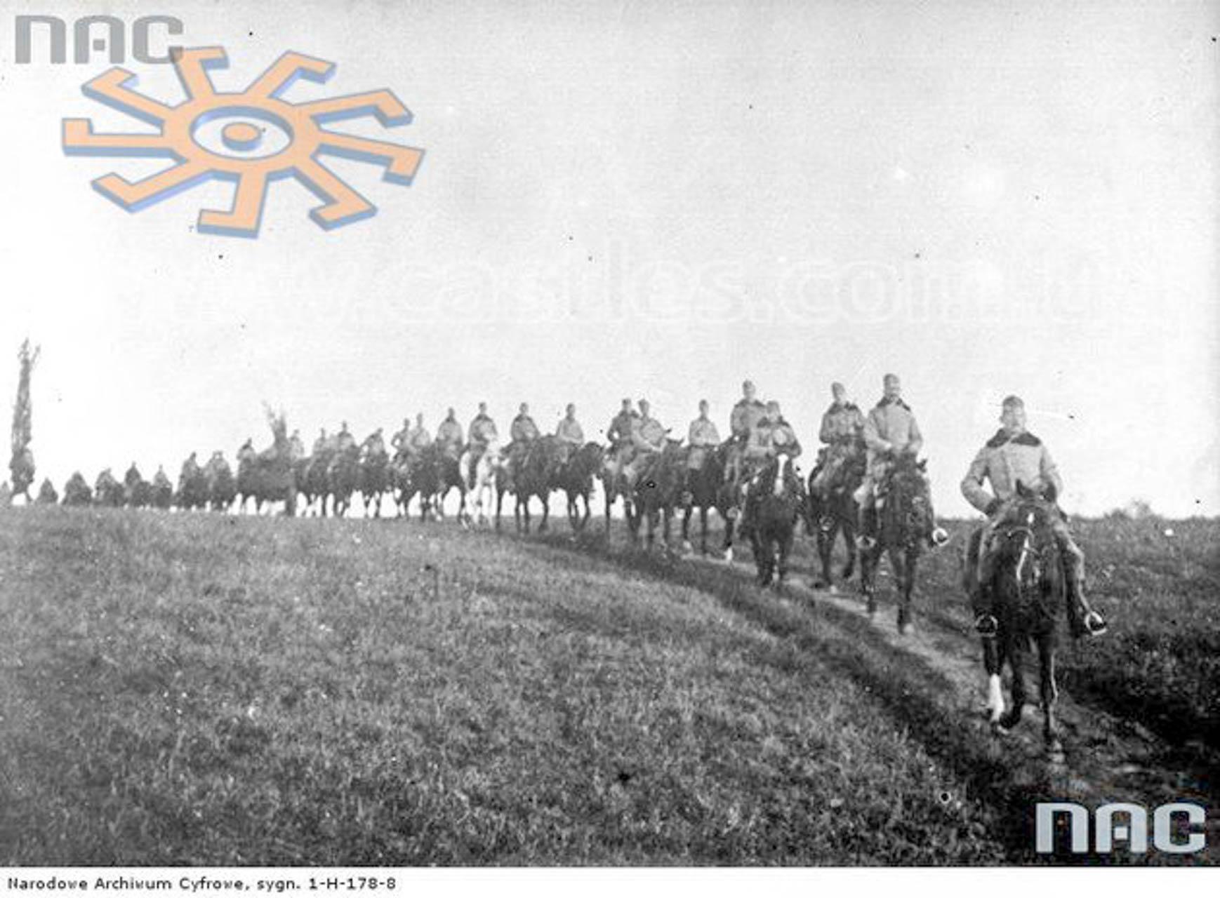 Hallerczycy pod Rarańczą w 1915 r.