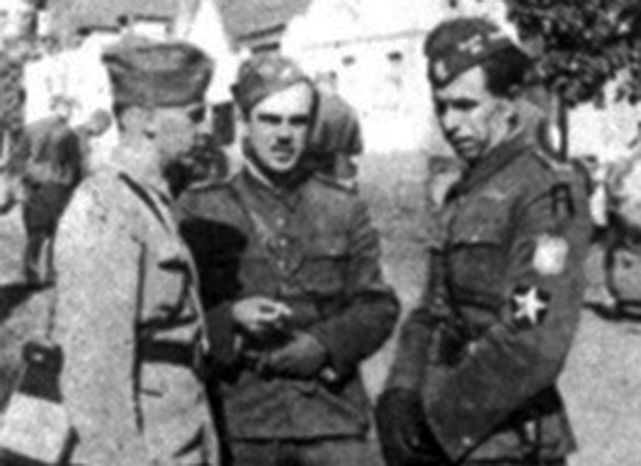 Pośrodku - Leonard Zub-Zdanowicz