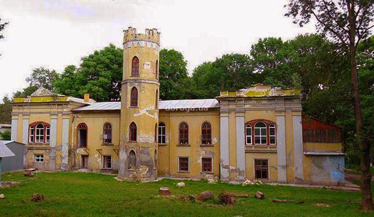 Były pałac Krupieckich w Krywczyku. Źródło: www.doroga.ua