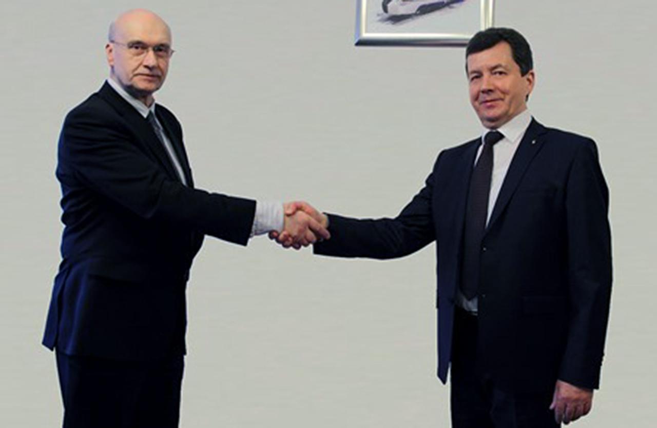 Piotr Stomma (od lewej) i Mykołaj Snitko