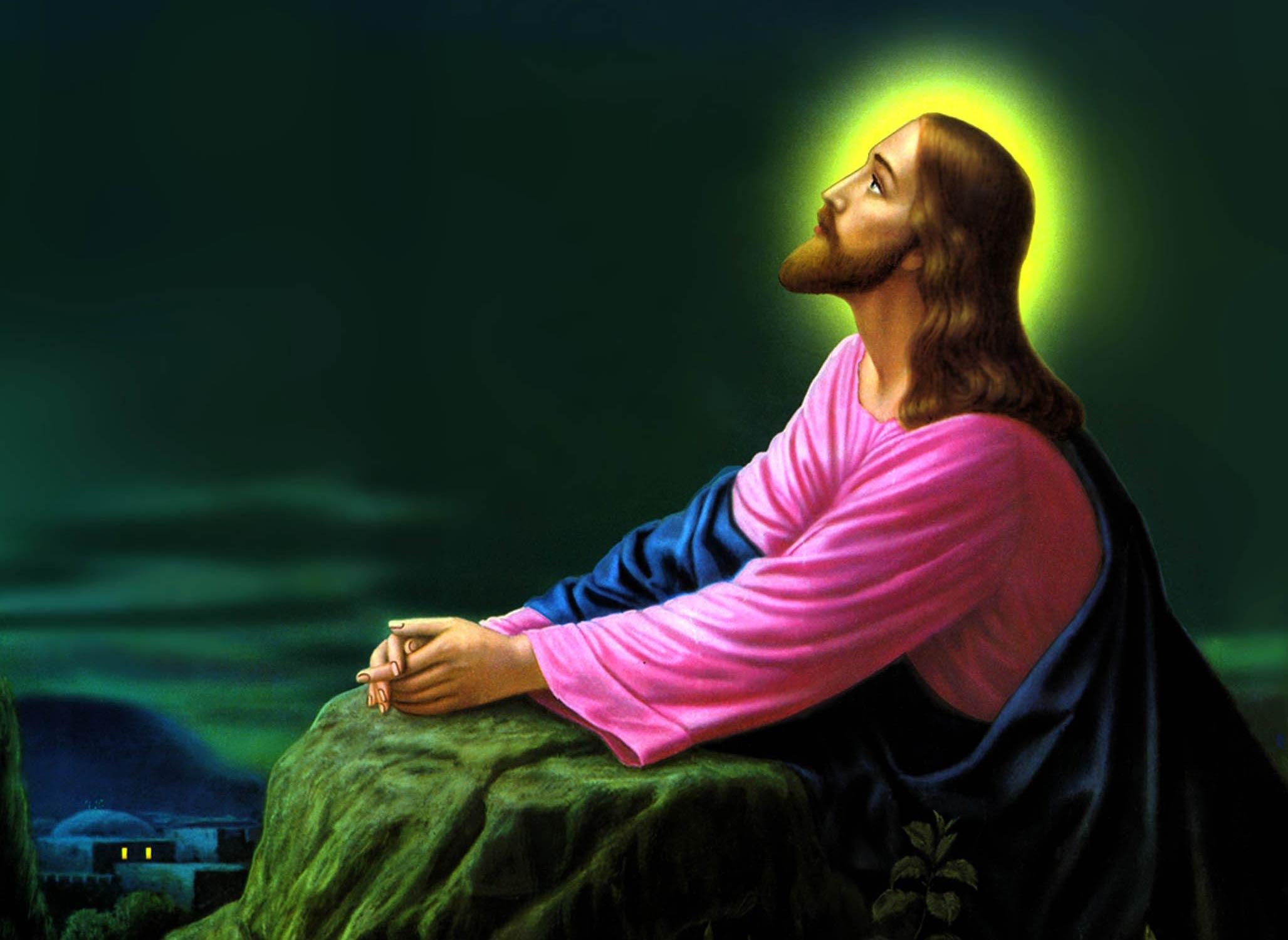 Modlitwa Jezusa w Ogrójcu. Źródło: obrazmojegoserca2.blog.onet.pl