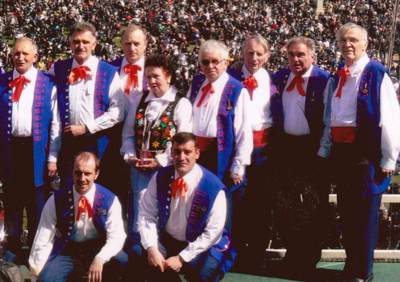 Zespół Poleskie Sokoły z występami zwiedził całą Polskę