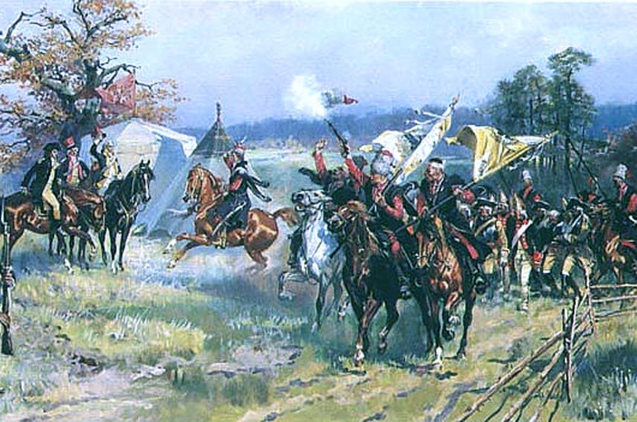 Targowiczanie po bitwie pod Zieleńcami
