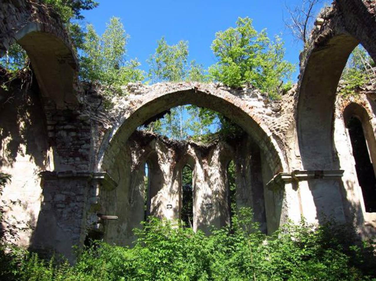 Kościół Św. Antoniego w Załoźcach. Źródło: iloveukraine.com.ua
