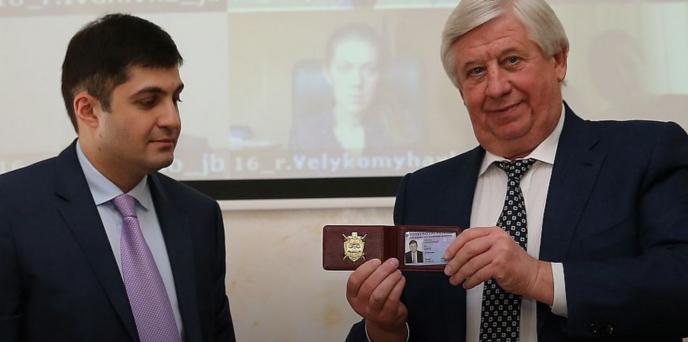 Dawid Sakwarelidze, Wiktor Szokin