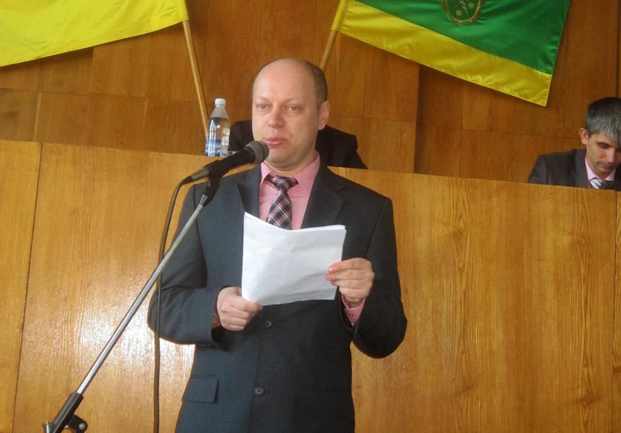 Jerzy Sokalski prezentuje wnioski polskiej mniejszości Berdyczowa