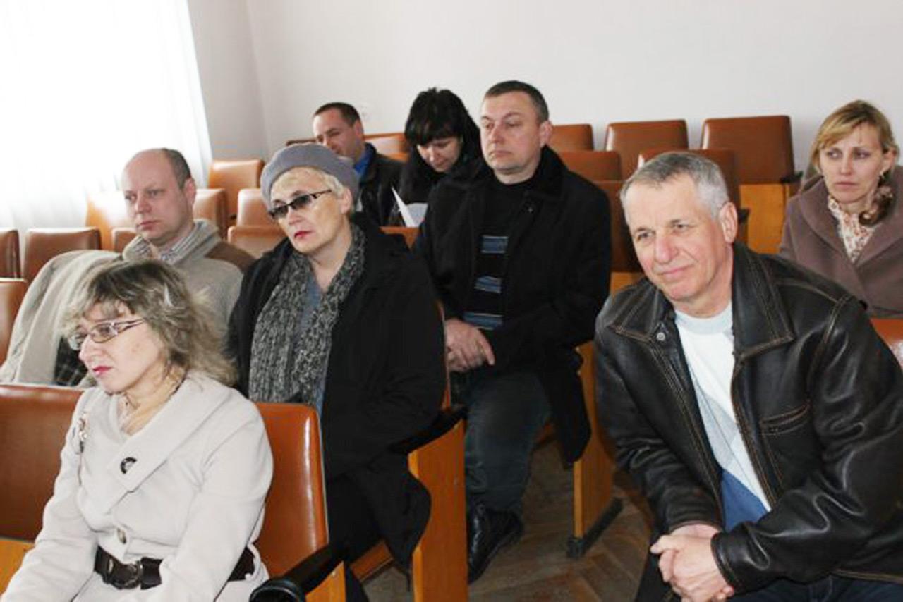 Od lewej - Jerzy Sokalski i Łarysa Wermińska