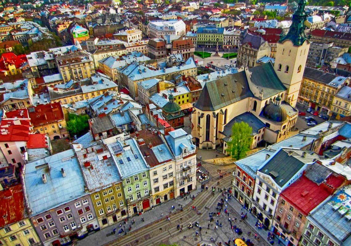 Lwów współczesny. Źródło: www.sistersm.net