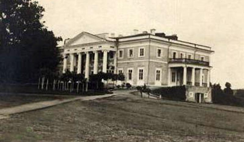 Pałac w Czarnominie. Pocz. XX w. Źródło: www.castles.com.ua