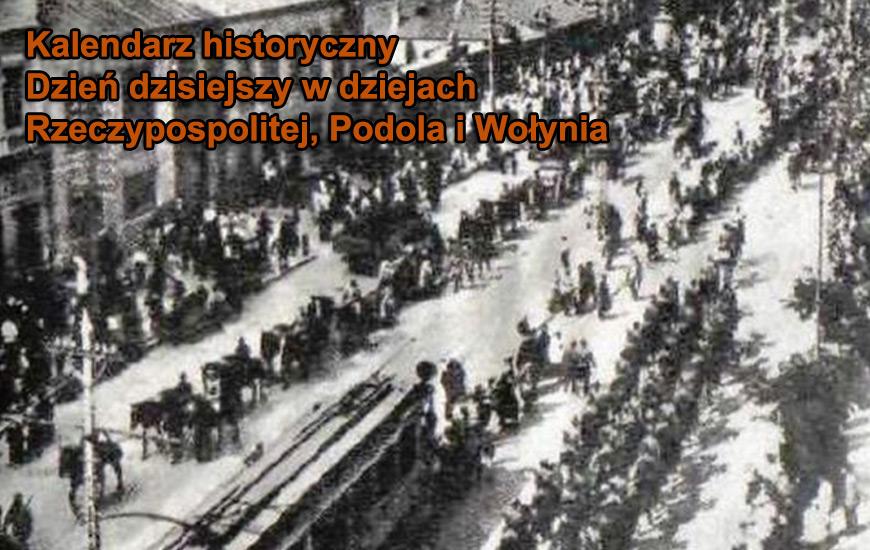 Wojsko Polskie wkracza 7 maja do Kijowa