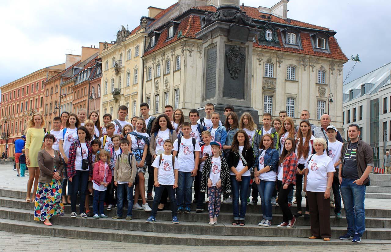 W centrum Warszawy. Autor zdjęcia - Natalia Abaszkina