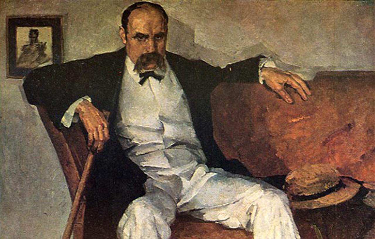 Portret Tarasa Szewczenki autorstwa Fedira Kryczkiewskiego