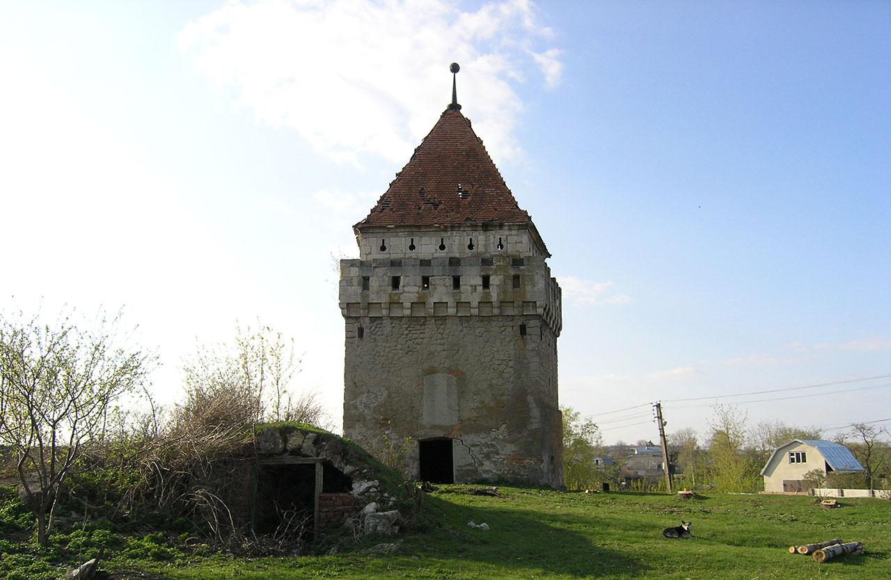 Fragment fortyfikacji w Skałacie