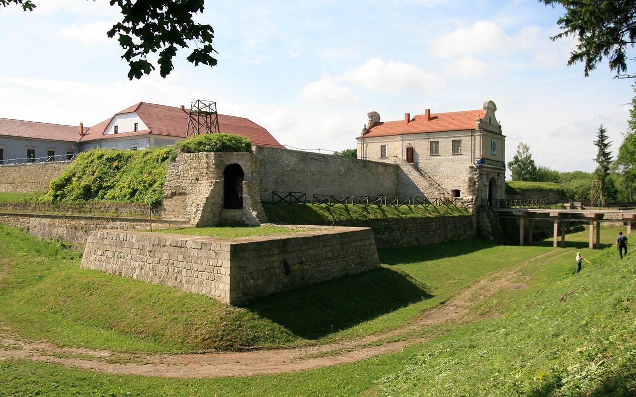 Forteca w Zbarażu