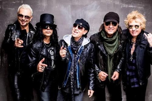Zespół Scorpions. Źródło: Rock Cellar Magazine Staff