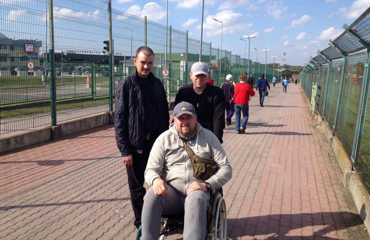 W drodze do Polski. Byli żołnierze na pieszym przejściu w Szeginach-Medyce