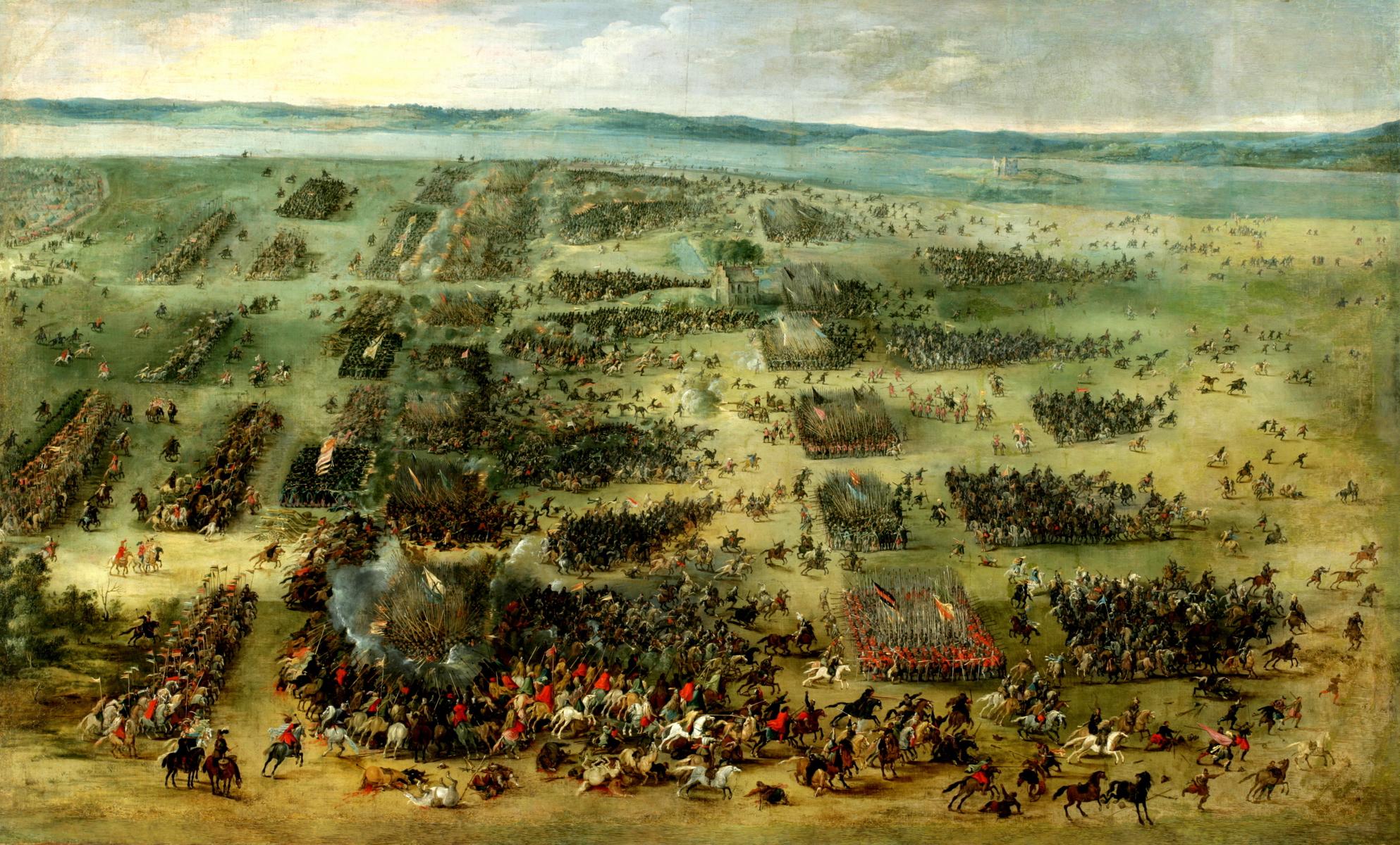 Bitwa pod Kircholmem (1605) na obrazie Pietera Snayersa