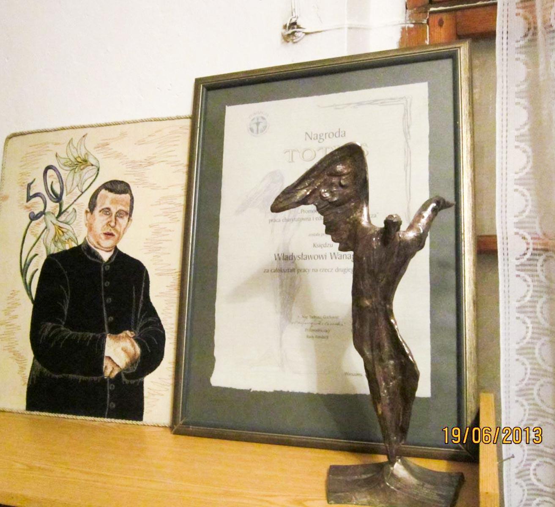 Totus - słynna nagroda, którą otrzymał ks. Władysław