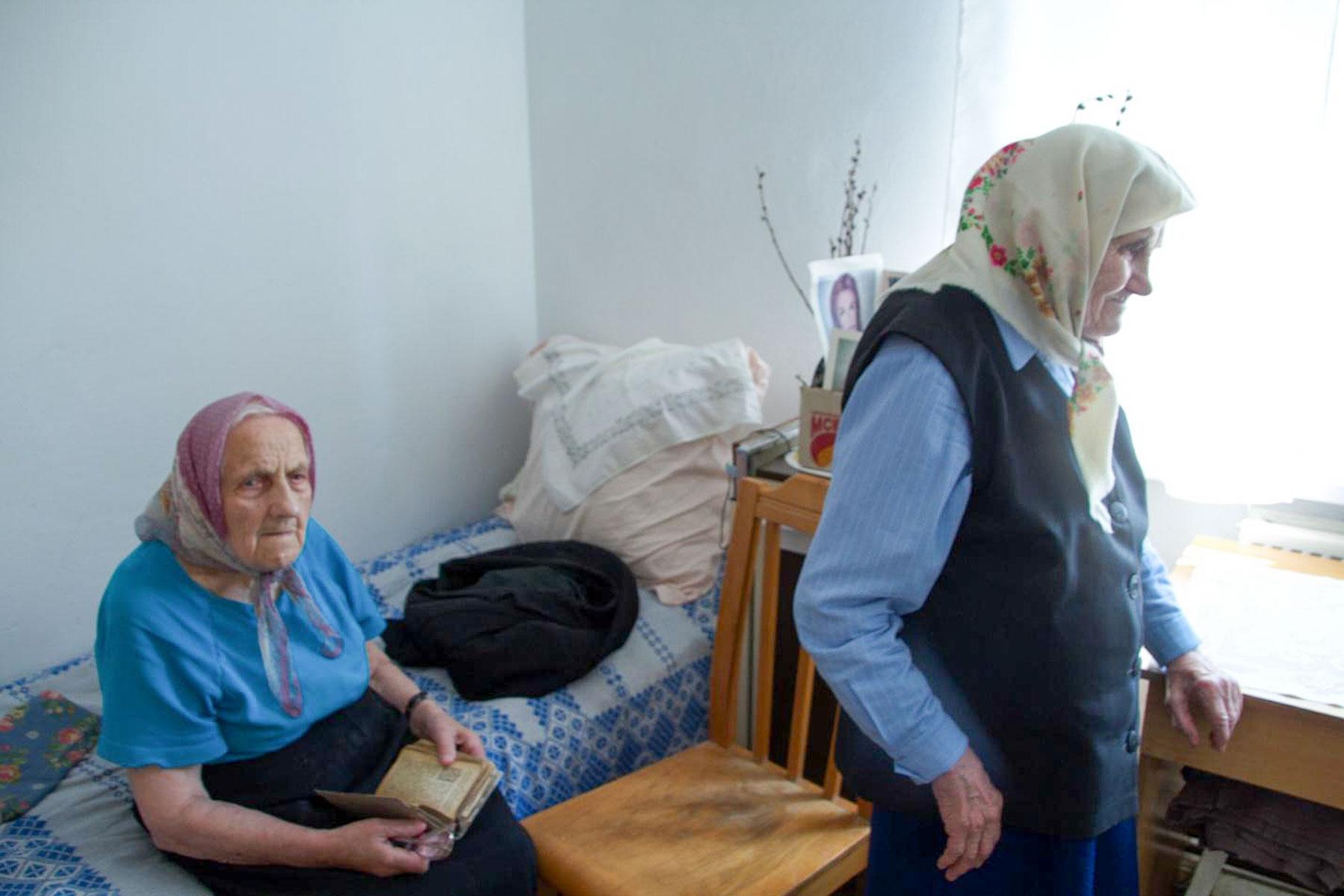 Mieszkańcy gródeckiego Domu Miłosierdzia