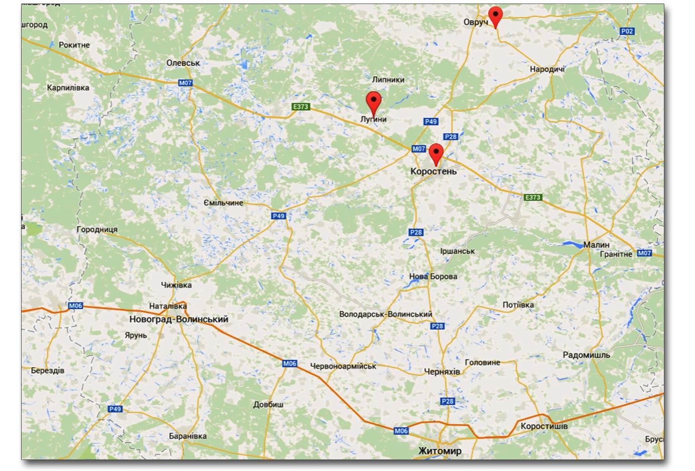Źródło - Google Maps