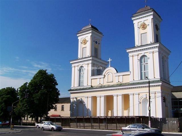 Kościół p. w. Św. Józefa, Oblubieńca NMP w Niemirowie. Źródło - moyaukraine.livejournal.com