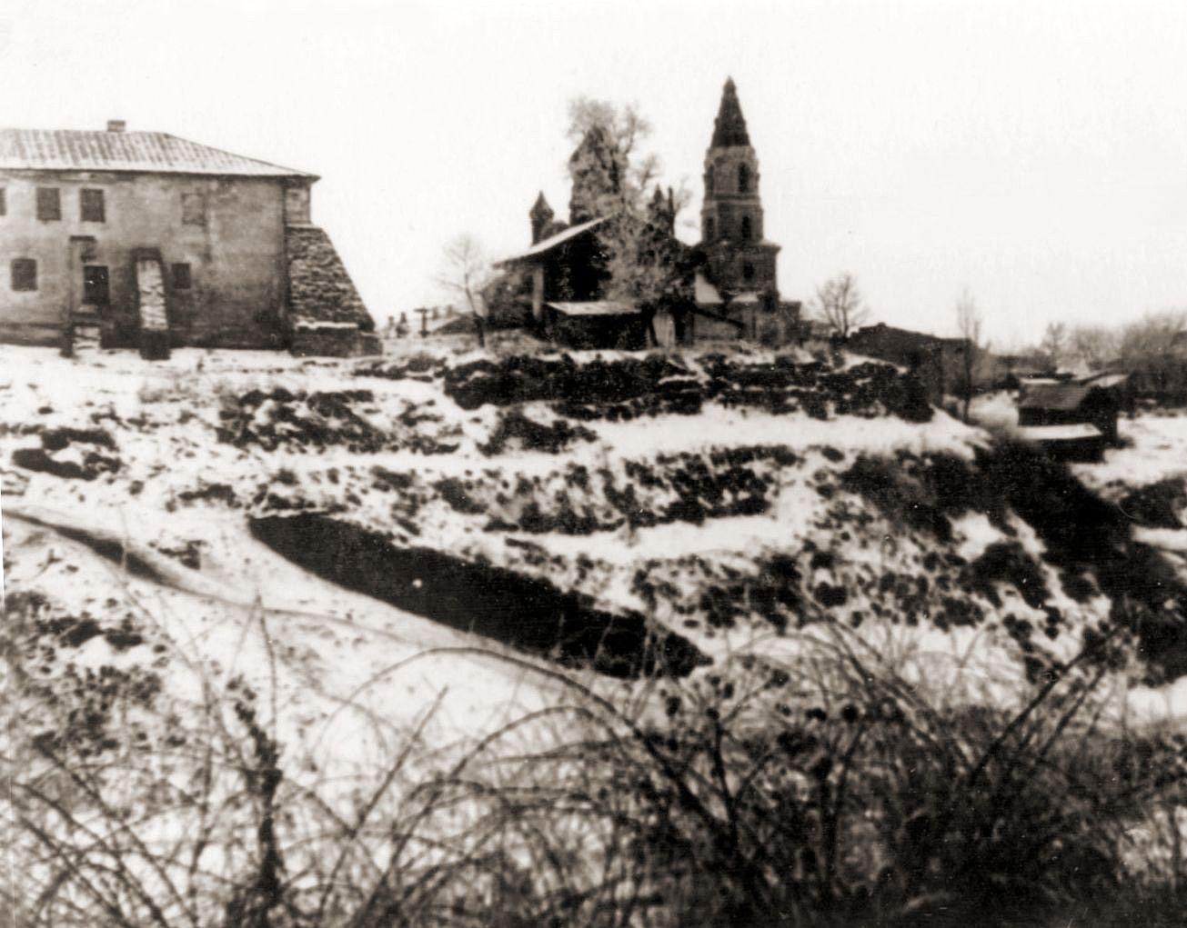 Zdjęcie żytomierskiego zamczyska, wykonane w 1959 roku. Źródło - zt4ever.org.ua