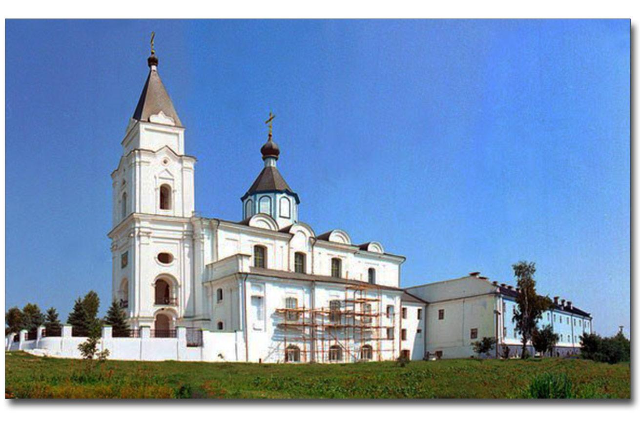 Były klaszto trynitarzy. Dziś monastyr prawosławny. Źródło - photoukraine.com