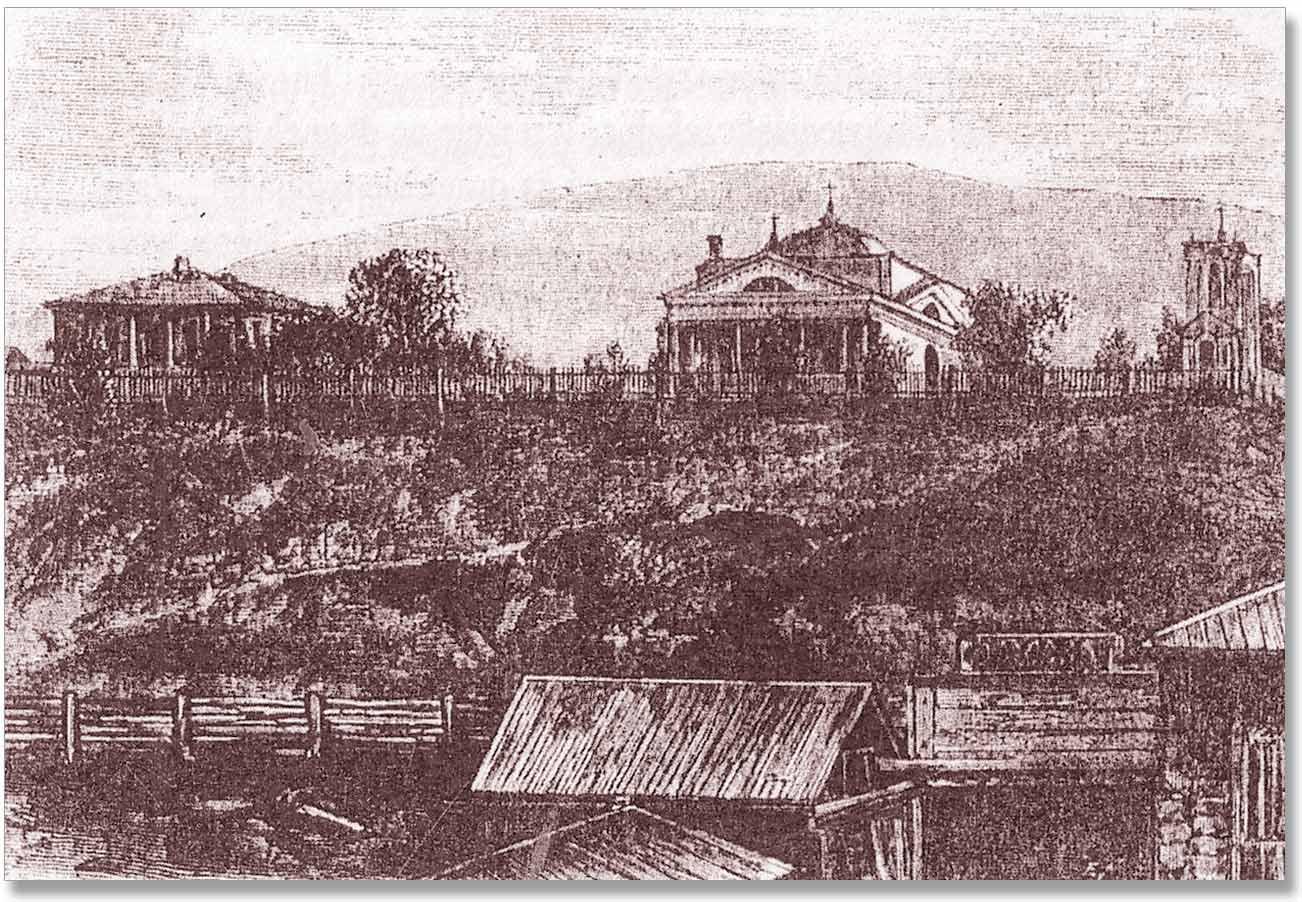 Kościół parafialny w Tomsku