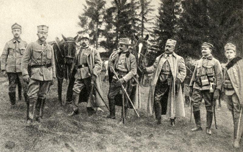 Legiony w Karpatach. Źródło - pl.wikipedia.org
