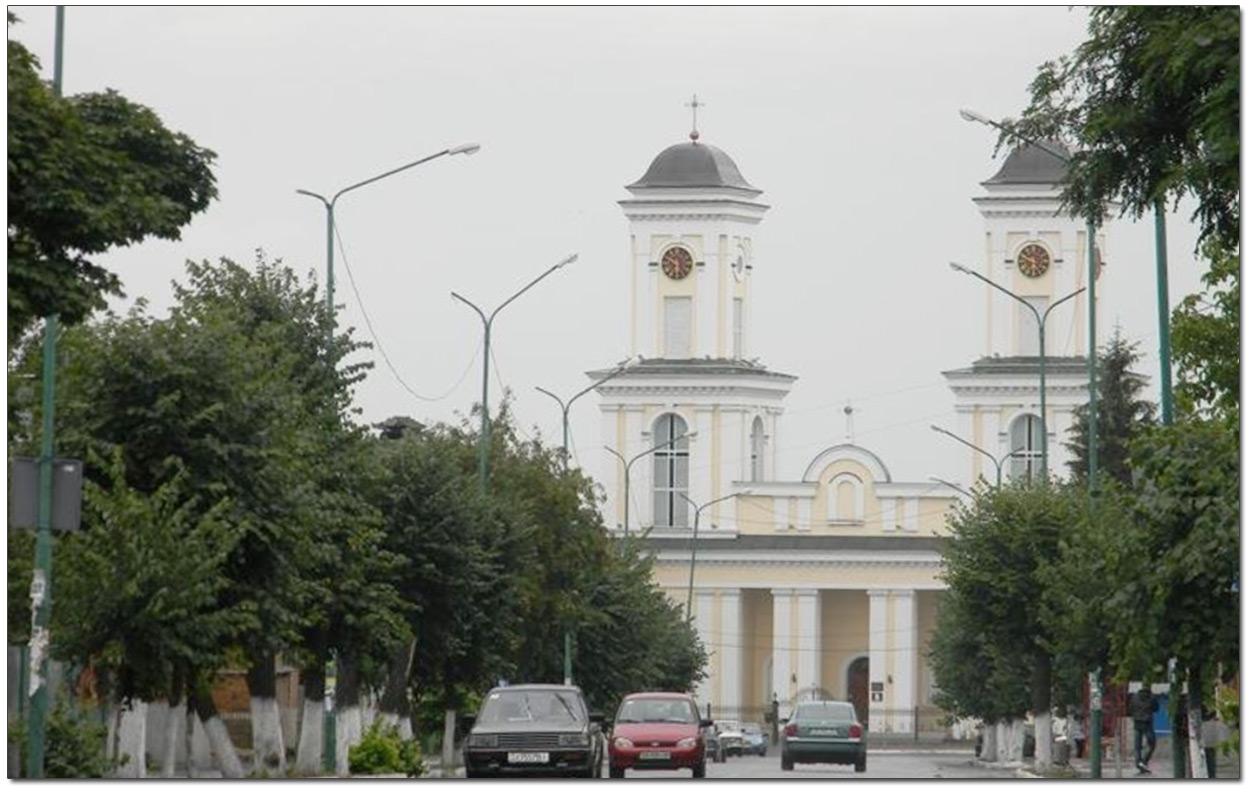 Kościół w Niemirowie na Podolu. Źródło - http://pohodushki.org