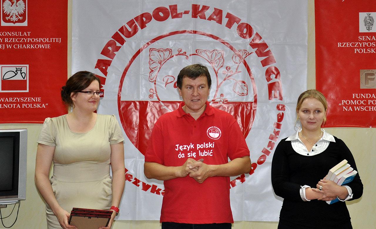 Andrzej Iwaszko podczas imprezy polonijnej
