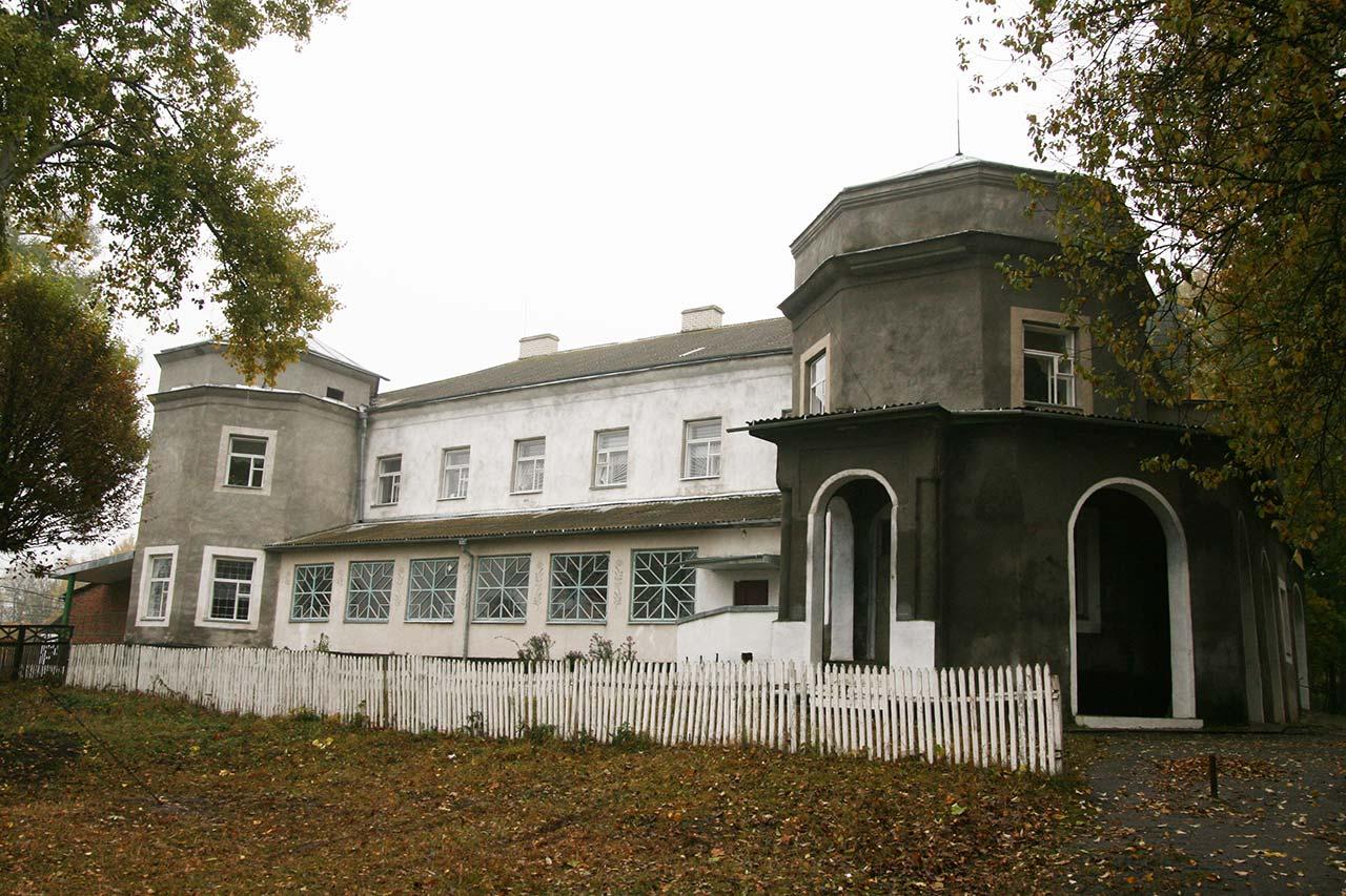 Była rezydencja Kosielskich w Manykowcach