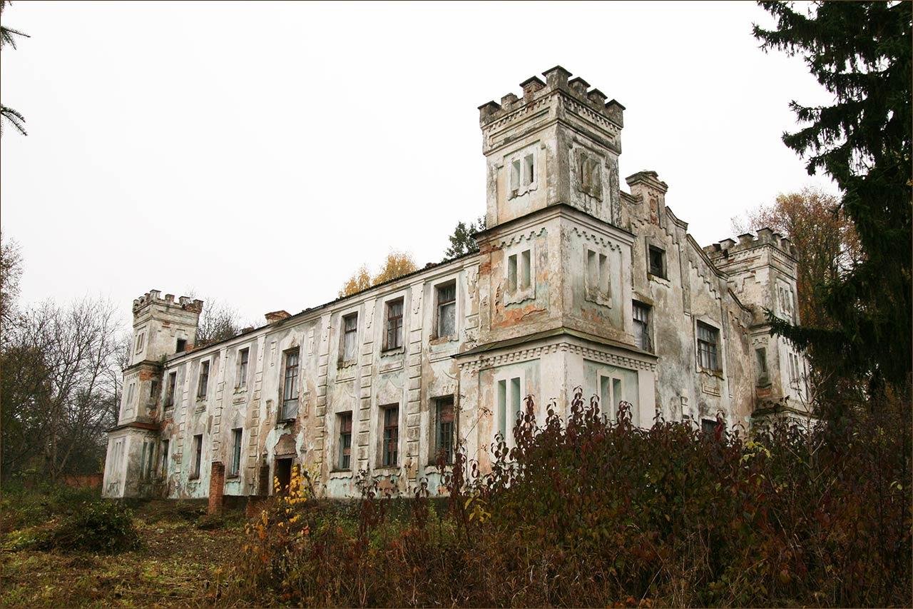 Pałac Wakarów w Słobódce Szelechowskiej
