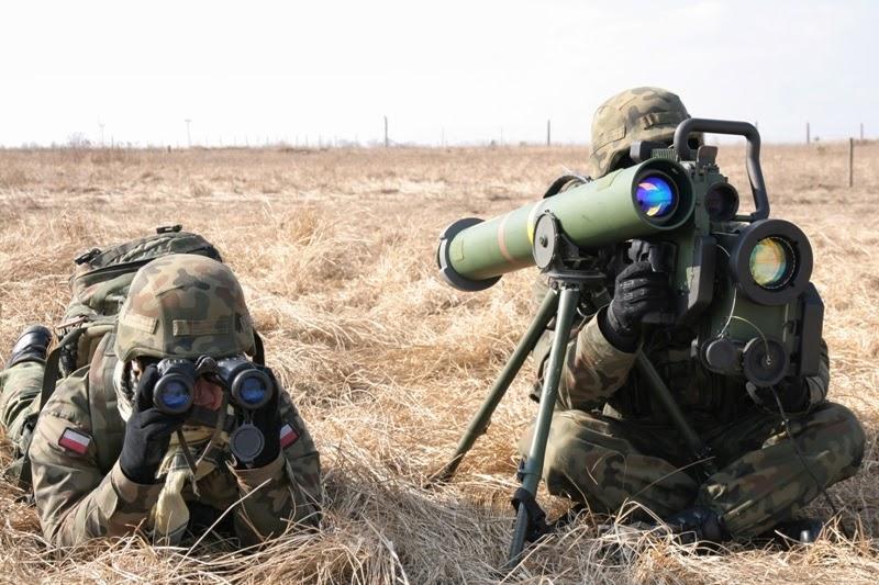 Operatorzy ppk Spike z 17 Wielkopolskiej Brygady Zmechanizowanej. Źródło - militarium75.blogspot.com