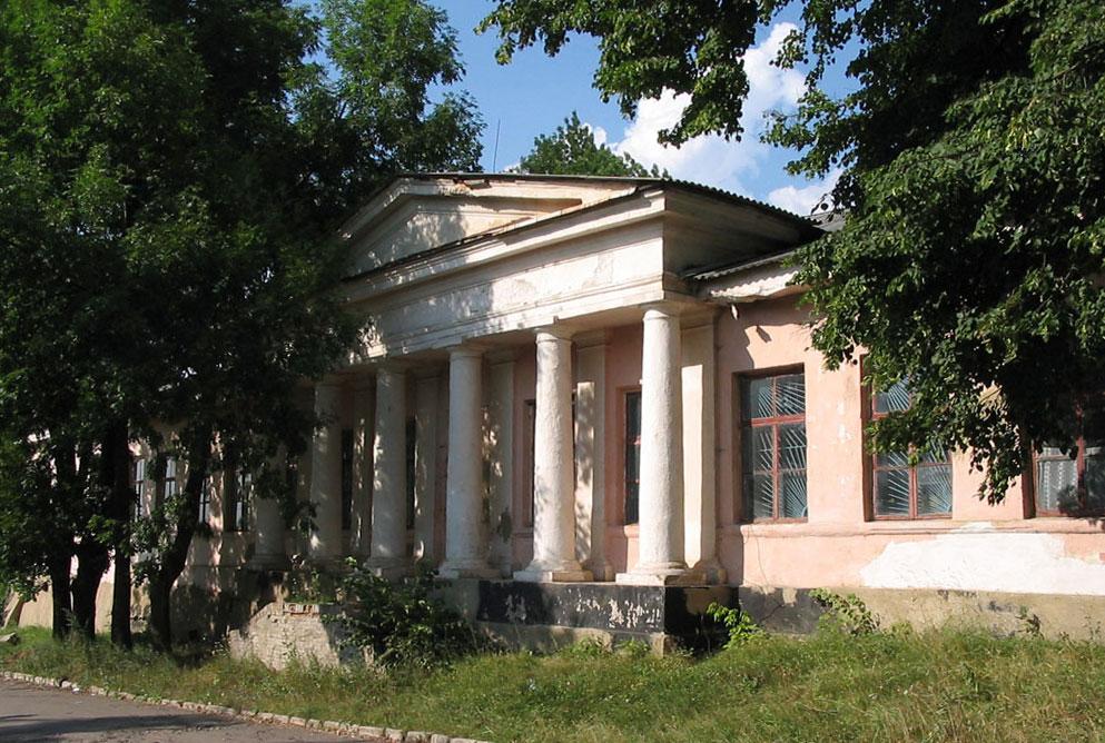 Pierwsze gimnazjum w Niemirowie. Źródło - http://serg-klymenko.narod.ru