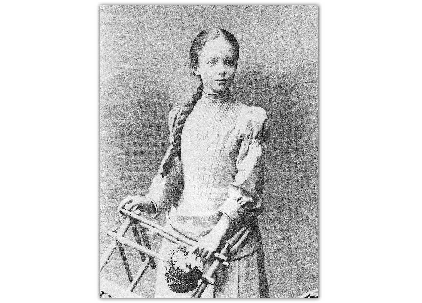 Młoda Marynia Sobańska
