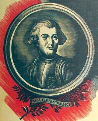 Maurycy Beniowski. Źródło - www.konnichiwa.pl