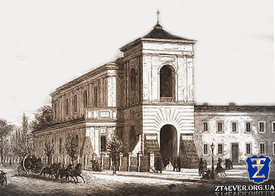 Kościół Jana z Dukli i klasztor bernardynów - po prawej