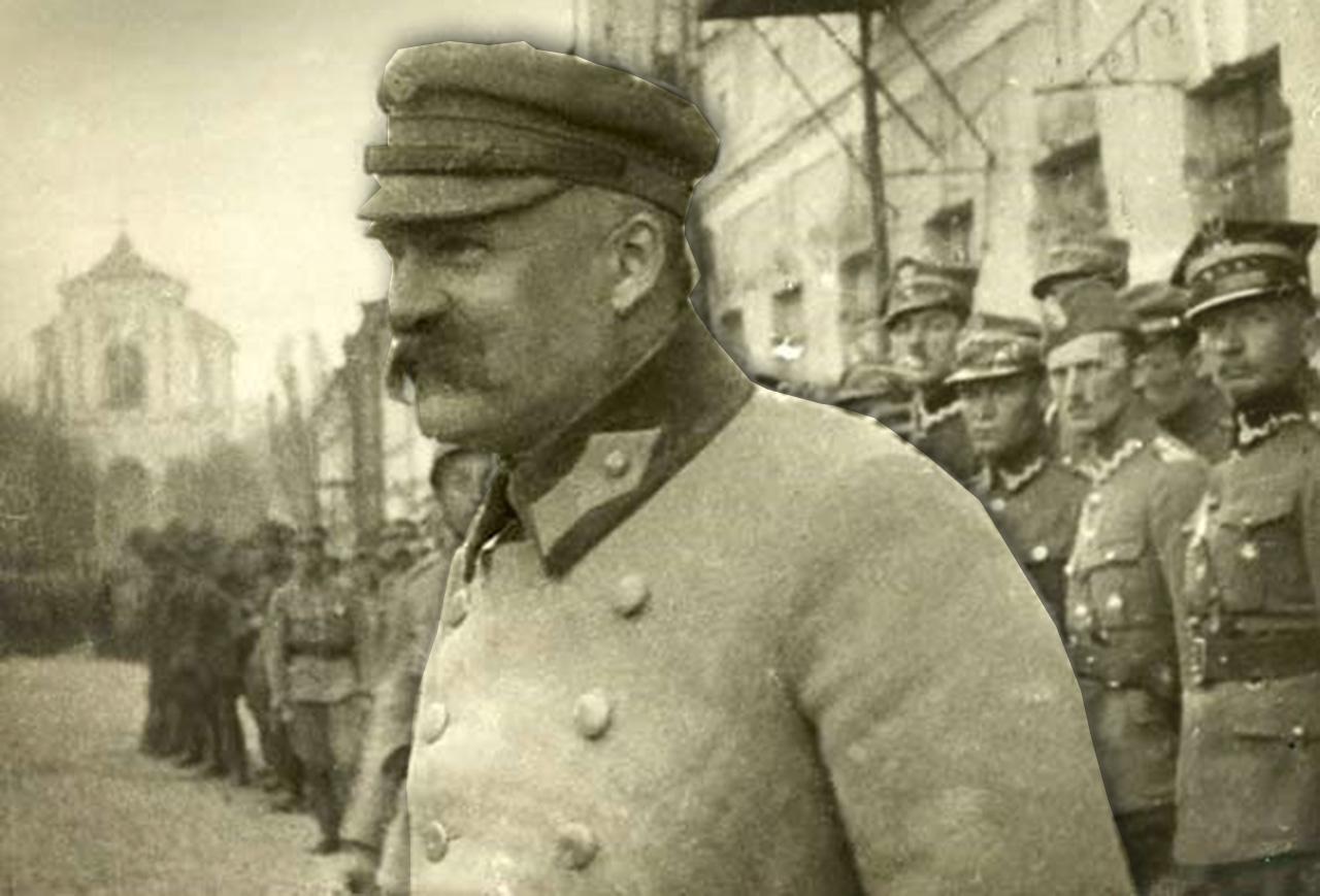Józef Piłsudski. Źródło - niezlomni.com