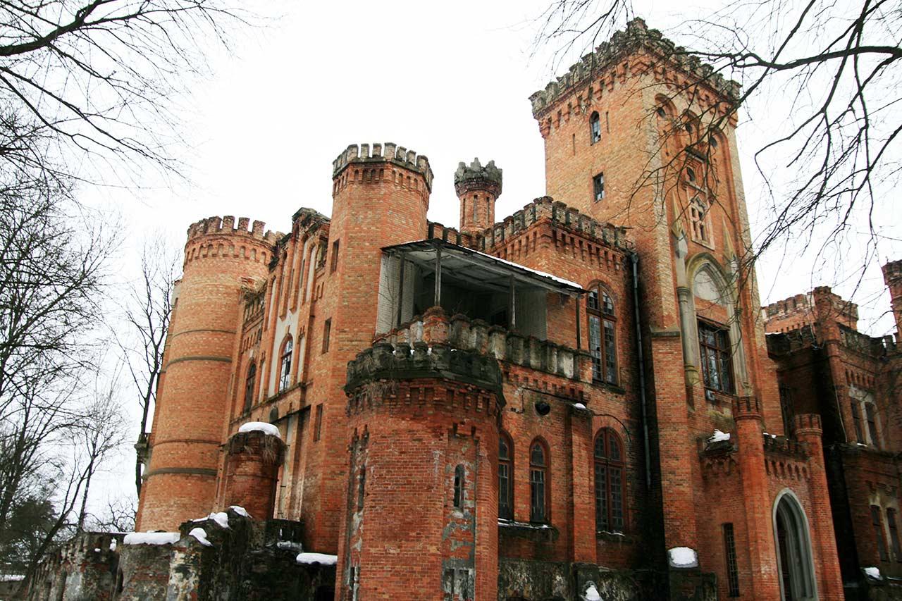 Przepiękna rezydencja Dachowskich w Leśkowej