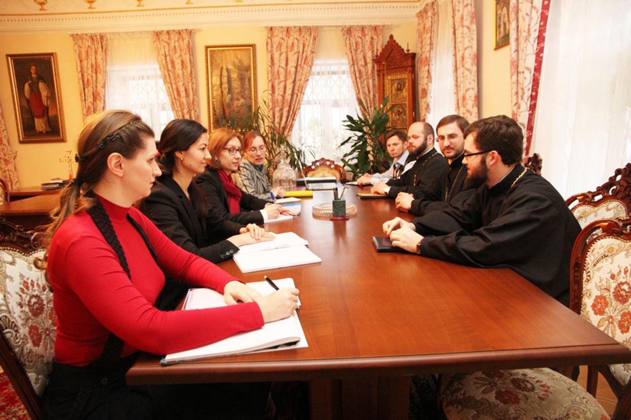 Zdjęcie z podobnych spotkań w Kijowie. Źródło - http://vzcz.church.ua