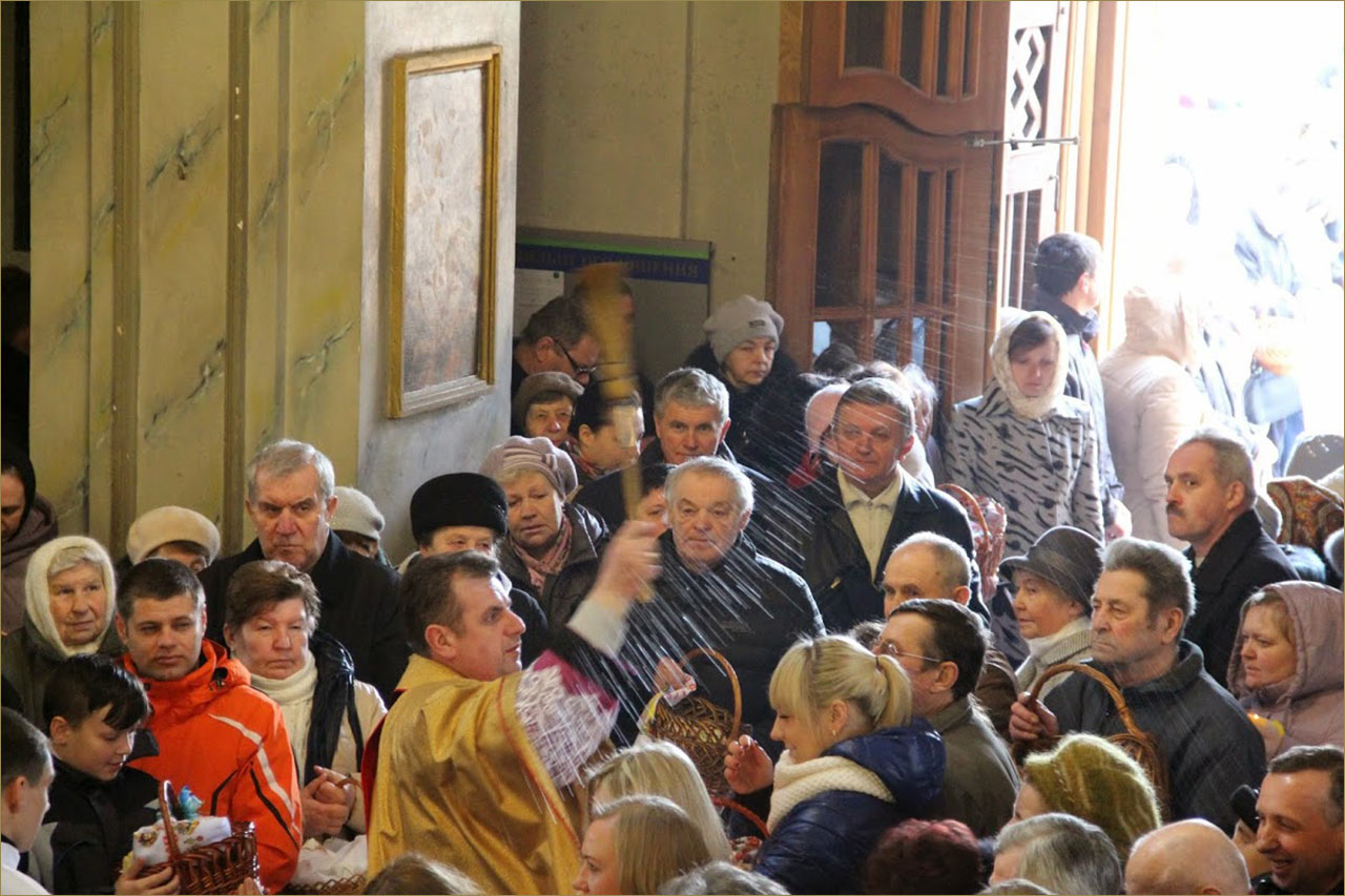 Źródło - https://plus.google.com. Profil diecezji kijowsko-żytomierskiej