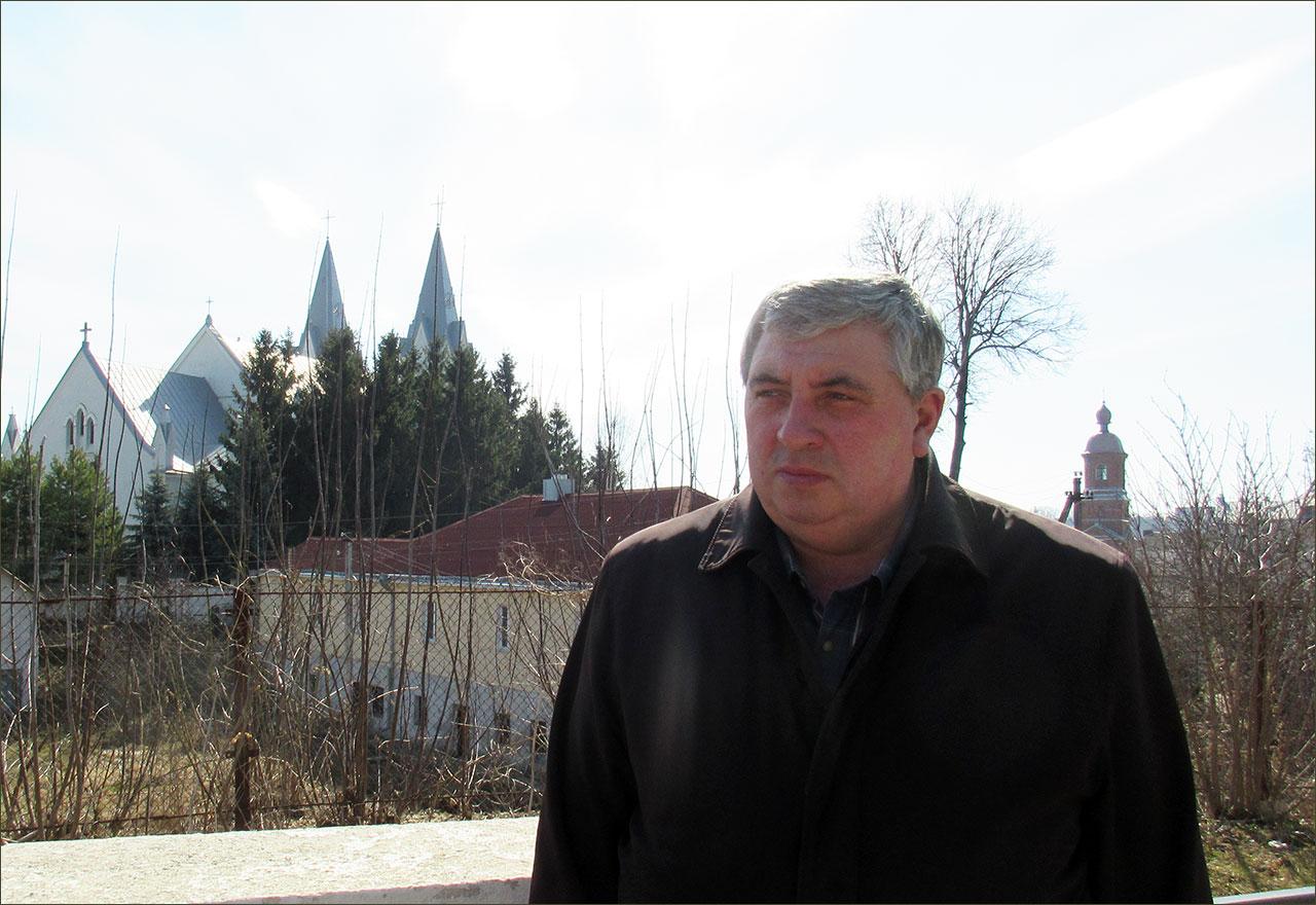 Jurij Teleha - mąż Pani Ludmiły