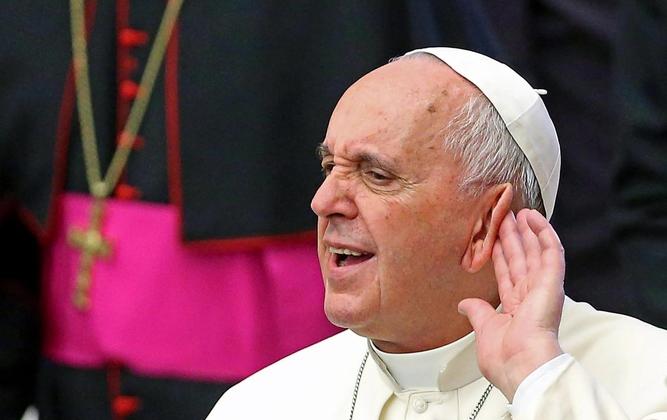 Źródło - ALESSANDRO DI MEO PAP/Epa. Franciszek pytał katolików czy angażują się w politykę