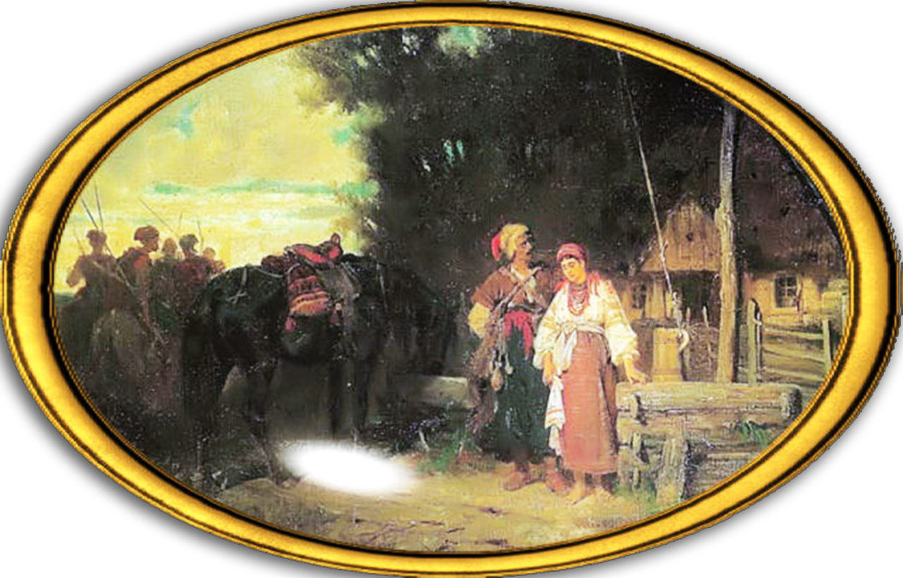 Józef Brandt. Pożegnanie kozaka