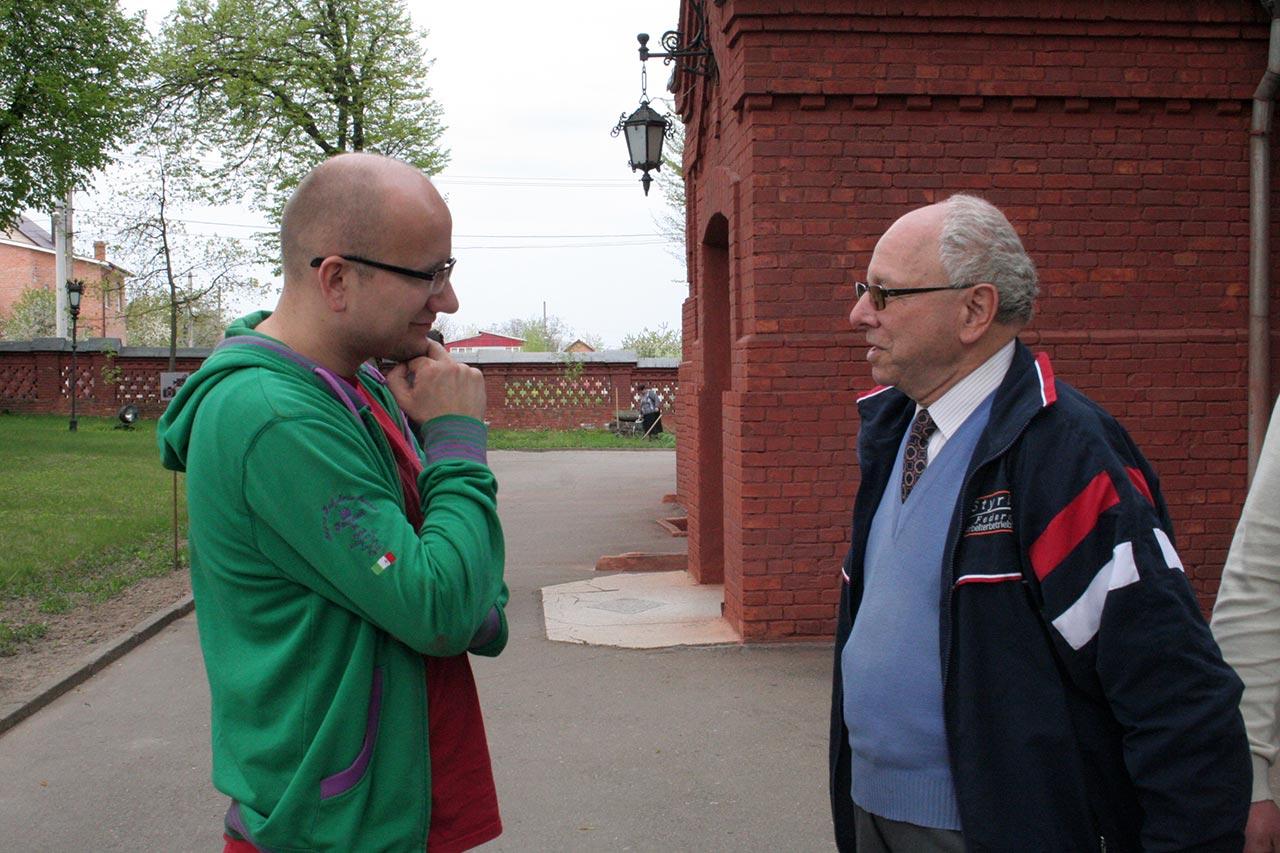 Spotkanie z konsulem KG RP Wojciechem Mrozowskim