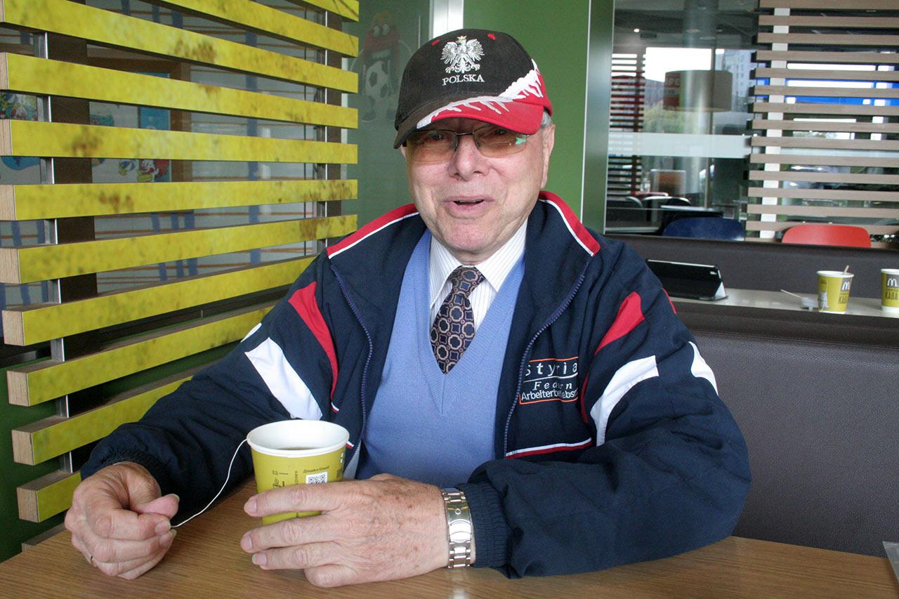 Rozmowa przy kawie z Panem Stanisławem