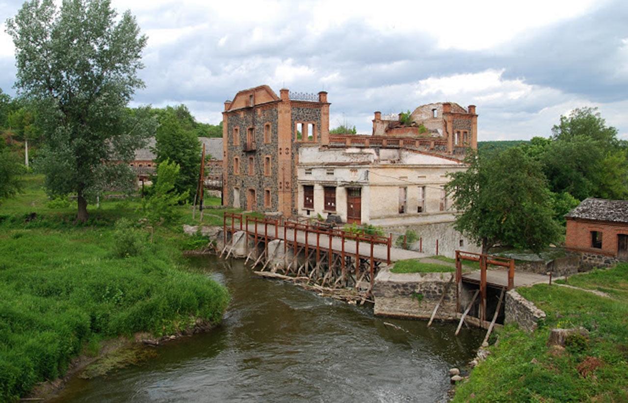 Młyn Potockiego w Sokolcu. Źródło - demarcos.livejournal.com