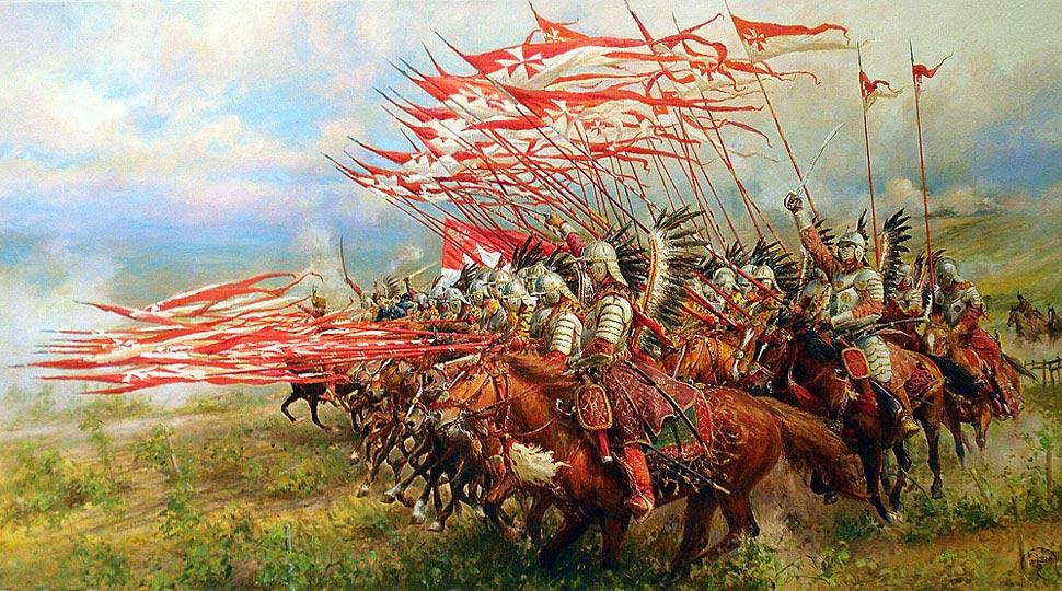 Polska husaria pod Wiedniem w 1683 roku. Źródło - historia.wp.pl