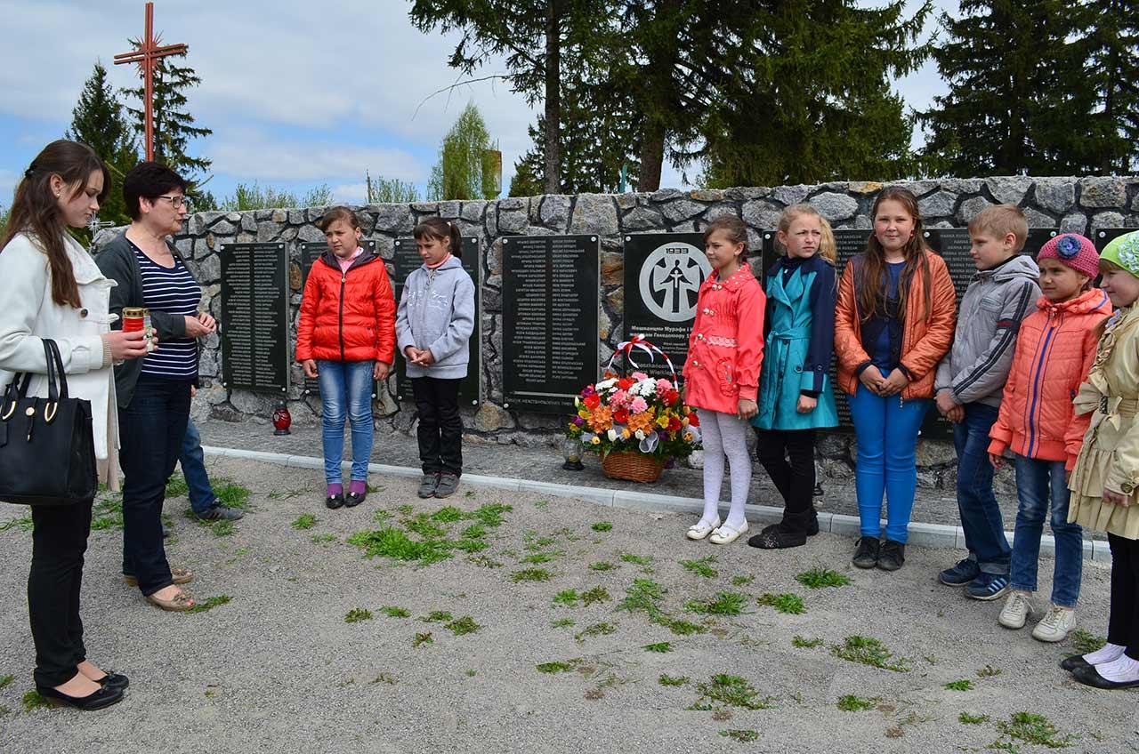 Murafa - tablice memorialne ofiar Wielkiego Głodu